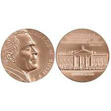 "USA MEDAL BU GEORGE W.BUSH INAUGURATED 1-20-2005,""WE WILL NOT TIRE, WE WILL NOT"