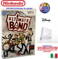 DISNEY ULTIMATE BAND GIOCO NUOVO PER NINTENDO Wii EDIZIONE ITALIANA PAL ITALIA