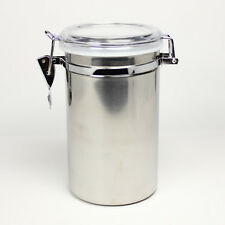 1 pound Stainless Steel Coffee beans/Tea Canister Airtight Bottle HJ096