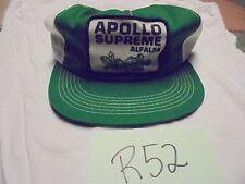 Vintage Hat Cap Mesh Snap Back Trucker Apollo Supreme Alfalfa Modified Genetics