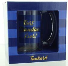 Lesser & Pavey Glass Tankard In Presentstion Box - Best Grandad Ever