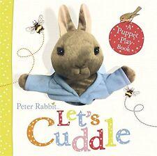 Peter Rabbit Let's Cuddle: Une Marionnette Play Book New Board Book Beatrix Potter