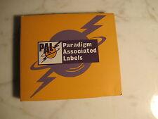 PARADIGM ASSOCIATED LABELS 4 CD RARE PROMO DELUXE PCKG CLASSIC ROCK PUNK ELECTRO