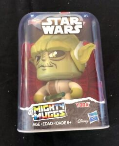 New Hasbro Star Wars Mighty Muggs #08 Yoda Multiple Faces Collectable Toy