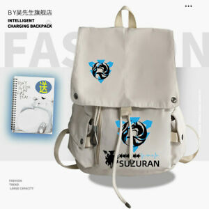 Arknights Suzuran Cosplay Traverl Backpack Shoulder bag High capacity schoolbag