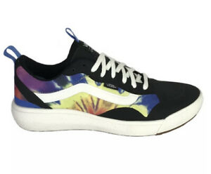 VANS UltraRange Exo, Tie Dye - Black / Marshmallow, Mens US Sz 13 Half Box New