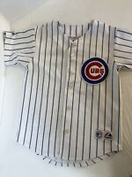 Majestic Vintage Chicago Cubs Mark Prior Baseball Jersey Youth Sm/Md See Descrip