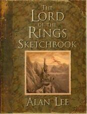 The Lord of the Rings Sketchbook by Alan Lee (2005, Hardcover)