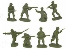 TSSD WWII US ARMY INFANTRY D-DAY 16 Plastic Toy Soldiers 1/32 8 Poses FREE SHIP