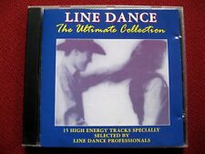 Line Dance - The Ultimate Collection - 15 Great Country Songs - EMI label CD