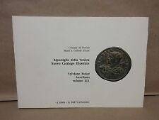 1995 Roman Coinage Ripostiglio Della Venera Storeroom of Venera Volume II/1