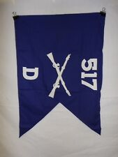 flag970 WW2 US Army Airborne Guide on 517 Parachute Infantry Regiment D Co IR42B