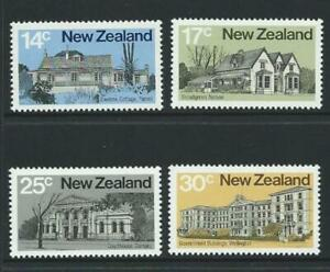 MINT 1980 NEW ZEALAND NZ ARCHITECTURE STAMP SET