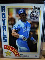 Bo Jackson 2019 Topps Series 2 1984 All Star 35th Anniversary 84AS-BJ Royals