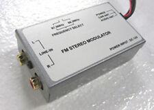 FM Stereo Modulator Euro GM Dodge Ford Jeep MP3 DVD 3.5 wCar Antenna Adapter set