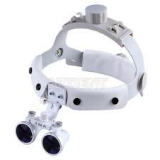 New Listingdental Loupes Surgical Binocular Glass Medical Magnifier Amp Led Head Light