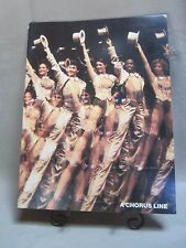 """A CHORUS LINE"" Presented by Joseph Papp Color Souvenir Brochure from April 1975"