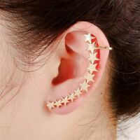 Women Earrings Stars Galaxy Constellation Sweep Up Crawler Climber Ear Pin Cuff