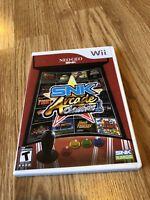SNK Arcade Classics Nintendo Wii Nice Disk SB1
