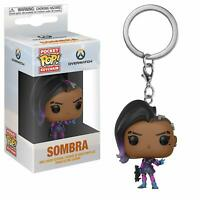 Funko Pop Keychain: Overwatch - Sombra Collectible Figure, Multicolor