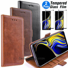 For Samsung Galaxy Note 9/ Note 8/S8/S9 Plus Leather Wallet Flip Card Case Cover
