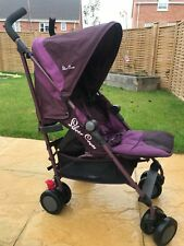 Silver Cross Pop 2 Augergine Pushchair Single Seat Stroller.  Immaculate cond.
