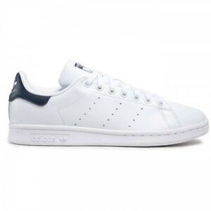 Adidas Stan Smith Uomo Bianco/Blu FX5501 Ftwwht/Ftwwht/Conavy