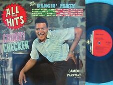 Chubby Checker ORIG UK LP All the hits for your dancin party EX '62 Cameo MONO