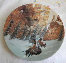 """""""CANYON OF THE CAT """" PLATE (THE FACES OF NATURE)"""