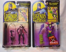 Legends of the Batman Lot 2 Figure Catwoman & The Laughing Man Joker -Kenner '94