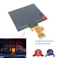 LCD Screen Display Peugeot 407 407SW Instrument Cluster Dashboard Pixel Repair