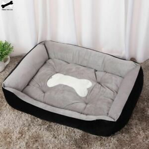 Bone Pet Bed Warm Pet Bed Linen For Small Medium Large Dog Soft Pet Bed For Dogs