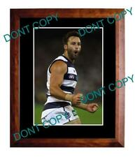 JIMMY BARTEL GEELONG CATS FC STAR LARGE A3 PHOTO