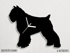 Bouvier des Flandres Silhouette - Wall Clock