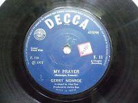 "GERRY MONROE F 11 RARE SINGLE 7"" INDIA INDIAN 45 rpm VG+"