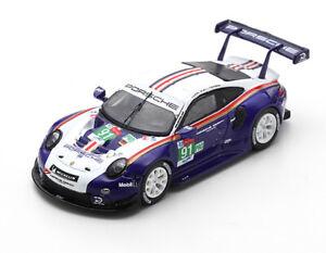 1:87 Spark 2018 Porsche 911 RSR LeMans Lietz Bruni Makowiecki SP87S142