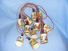 Vintage Disney Christmas Mickey Mouse Fantasia Plastic Tree Lights. WORKING
