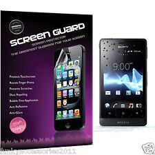 5 Pack High Quality Excellent Scratch Screen Protector for Sony Xperia Go ST27i