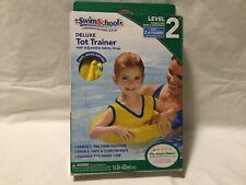 SwimSchool Deluxe TOT Swim Trainer Vest, Inflatable Swim Float, Level 2