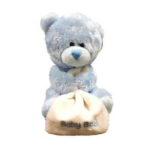 Korimco Plush - Pipp Blue Bear With Blanket - 14cm - Brand New