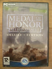 Medal Of Honor Allied Assault Deluxe Edition - PC CD-ROM
