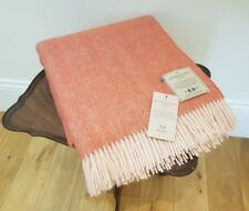 Lovely LTD Edition 100% Wool Throw / Blanket by Abraham Moon *Makers of Bronte*