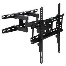 TV Wall Mount Bracket Tilt Swivel Swing Arm 24/28/32/40/43/49/50/55/60 Inch LCD
