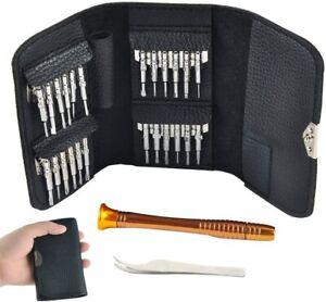 Hobby-Ace Screwdrivers Set Repair Tools Kit Set 26 in 1 with Tweezer