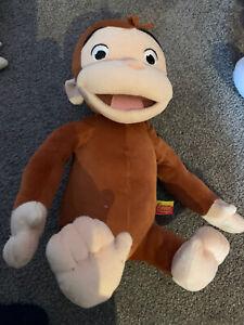 Curious George 32cm Plush Toy - Excellent Condition