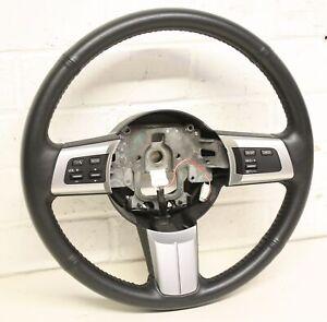 Mazda MX5 - Mk3 (NC) 05-15 - THREE SPOKE LEATHER STEERING WHEEL w/ CRUISE #359