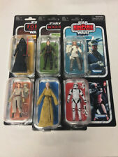 Star Wars Vintage Collection 3.75'' COMPLETE LOT SET OF 6 Wave 1 All New Sealed
