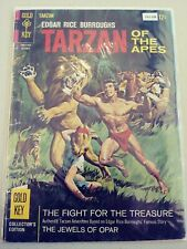 TARZAN OF THE APES 161 G/VG GOLD KEY 1966 PA2-288