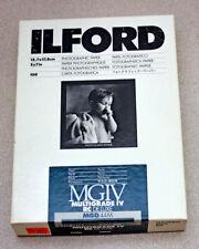 Ilford 5X7 Multigrade Iv Rc Deluxe – Partial 100 Count Box