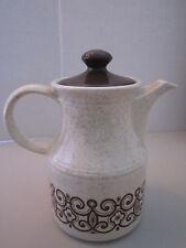 Vintage Staffordshire England Tea Coffee Pot, Biltons Ironstone Tableware